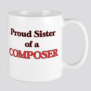 Proud Sister of a Composer Mugs