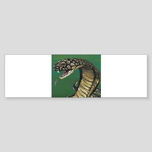King Cobra Snake Bumper Sticker