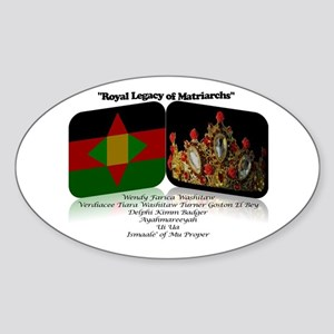 Ancestral Return Sticker (Oval)