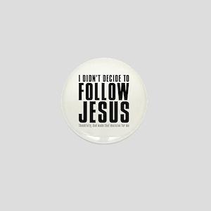Follow Jesus Mini Button