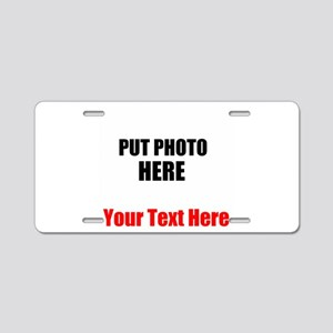 Funny Picture Aluminum License Plate
