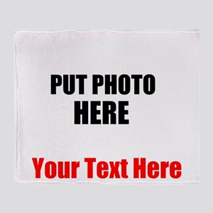 Funny Picture Throw Blanket