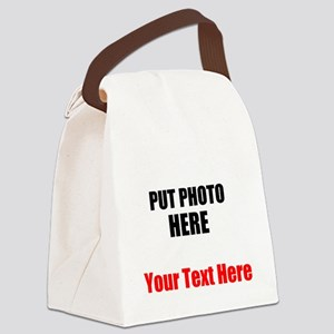 Funny Picture Canvas Lunch Bag