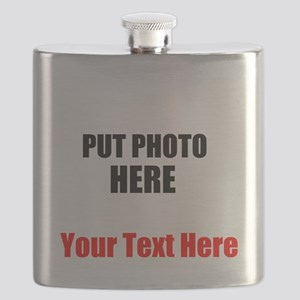 Funny Picture Flask