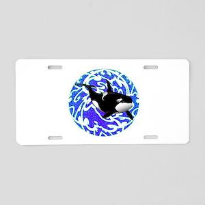 ORCA Aluminum License Plate