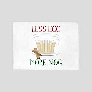 More Eggnog 5'x7'Area Rug