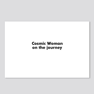 Cosmic Woman on the journey Postcards (Package of