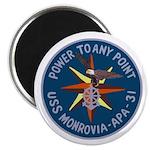 "USS Monrovia (APA 31) 2.25"" Magnet (10 pack)"