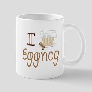I Love Eggnog Mugs