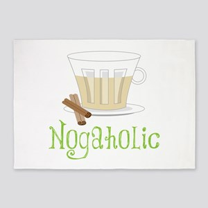 Nogaholic 5'x7'Area Rug