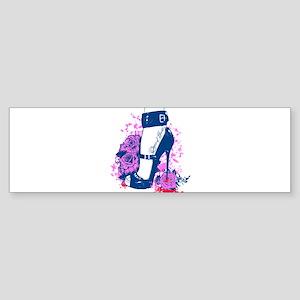 Queen of Hearts Bumper Sticker