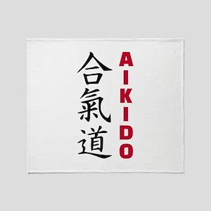 Aikido Throw Blanket