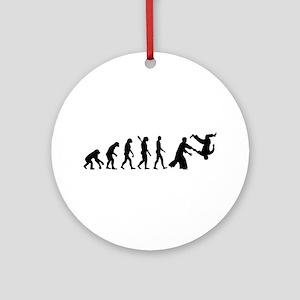 Evolution Aikido Round Ornament