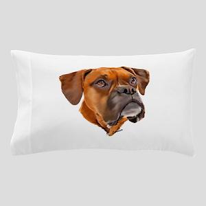 Boxer Art Portrait Pillow Case