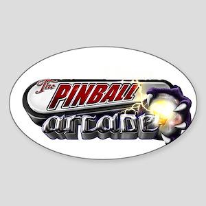 Pinball Arcade Themed Spooky Sticker