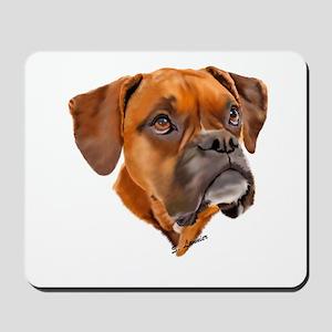 Boxer Art Portrait Mousepad