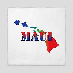 Maui Hawaii Queen Duvet