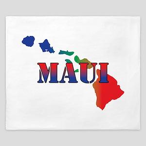 Maui Hawaii King Duvet