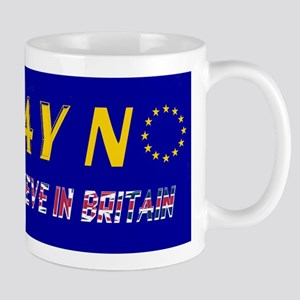 Believe in Britain! Mug