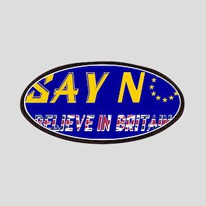 Believe In Britain! Patch