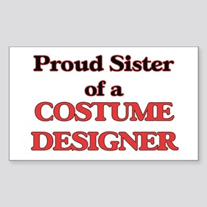 Proud Sister of a Costume Designer Sticker