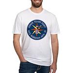 USS Monrovia (APA 31) Fitted T-Shirt