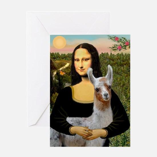 Mona's Baby Llama Greeting Card