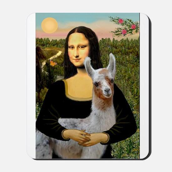 Mona's Baby Llama Mousepad