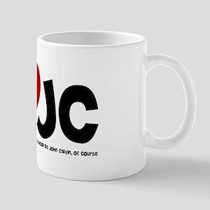 I Love J.C. Mug