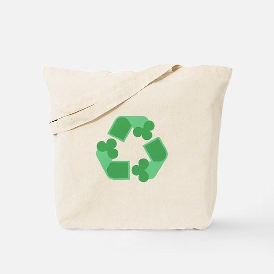 Recycle Shamrock Tote Bag