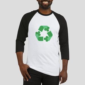 Recycle Shamrock Baseball Jersey