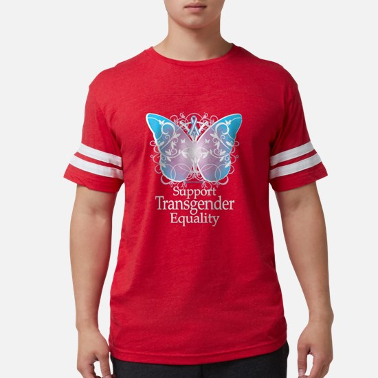 Transgender Butterfly Women's Dark T-Shirt