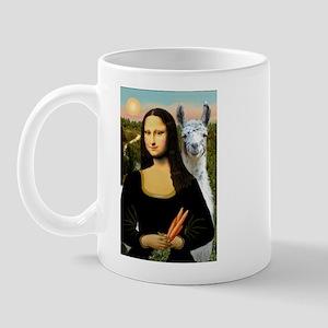 Mona Lisa's Llama Mug