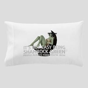 Be Shamrock Green Pillow Case