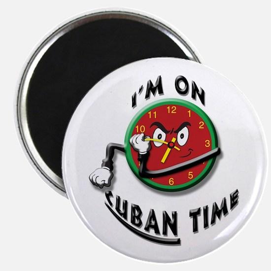 Cuban Time Magnet