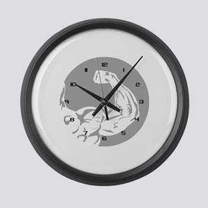 3-Clock_arm Large Wall Clock