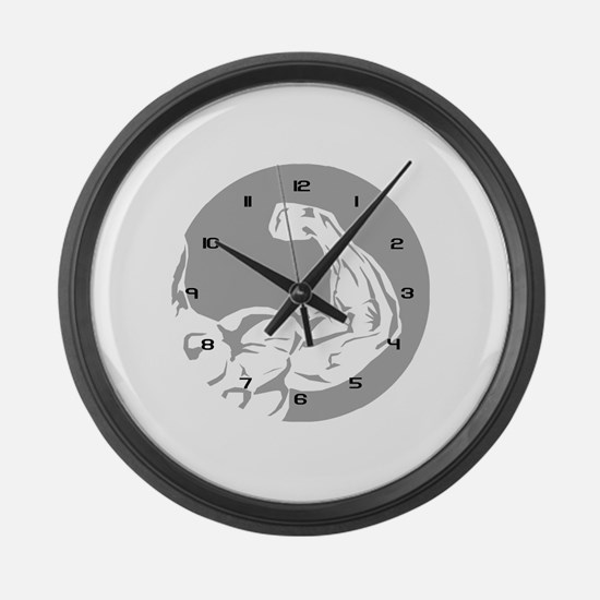 3-Clock_arm.png Large Wall Clock