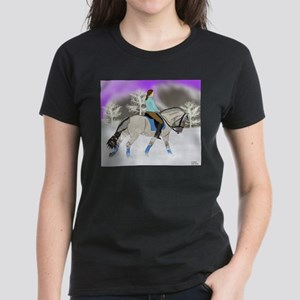 Dressage Fjord Horse Art Print T-Shirt