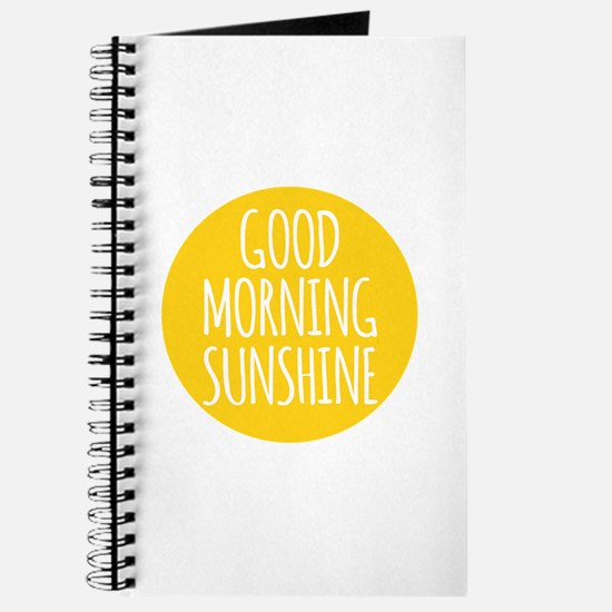 Good morning sunshine Journal
