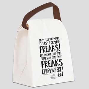 Frasier: Freaks! Roz Quote Canvas Lunch Bag