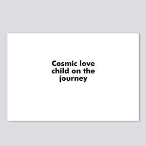 Cosmic love child on the jour Postcards (Package o