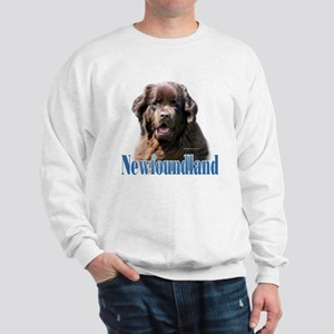 Newf(brown)Name Sweatshirt
