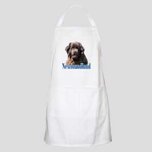Newf(brown)Name BBQ Apron