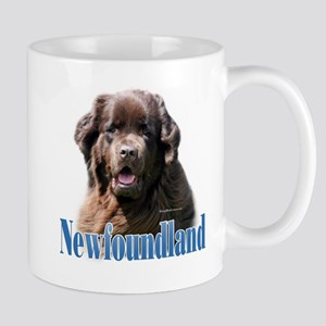 Newf(brown)Name Mug
