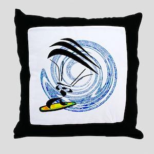 KITEBOARD Throw Pillow