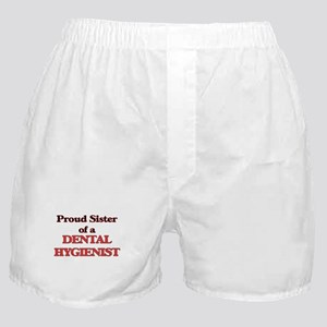 Proud Sister of a Dental Hygienist Boxer Shorts