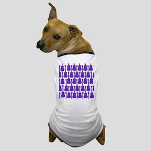 Purple Ukuleles Dog T-Shirt