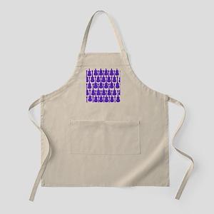 Purple Ukuleles Apron