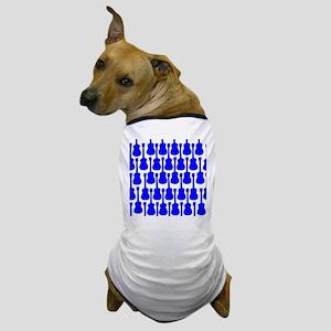 Blue Ukuleles Dog T-Shirt
