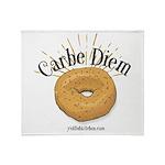 Carbe Diem Light Shirt Throw Blanket